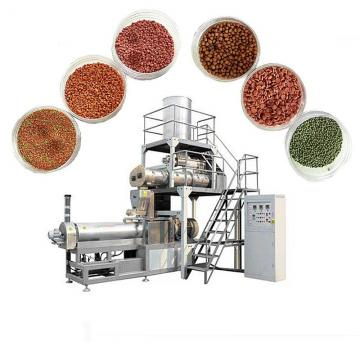 ISO Standard Reasonable Price Floating Fish Feed Extruder Machine