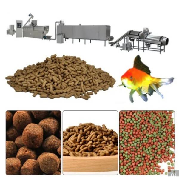 Full Automatic Fish Feed Pellet Machine Extruder Price