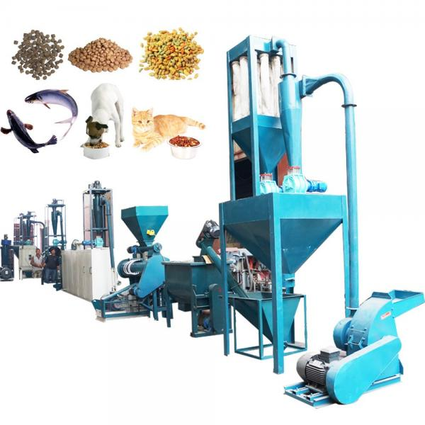 Small Pet Food Processing Machine Floating Fish Feed Pellet Extruder