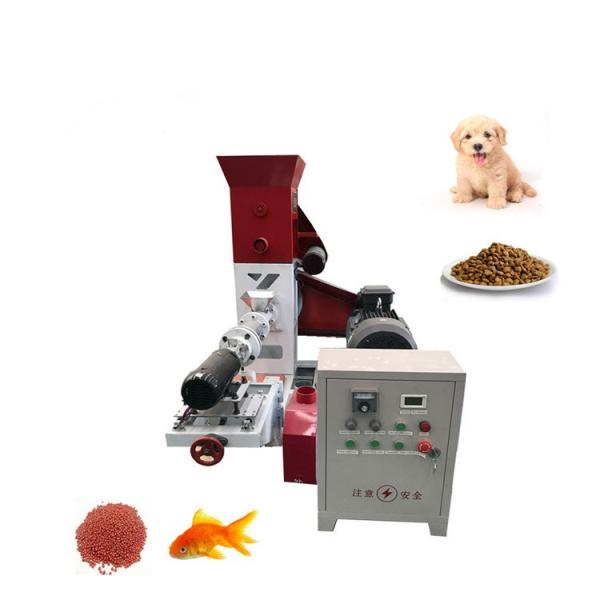 Automatic Floating Fish Feed Extrude Pellet Making Machine