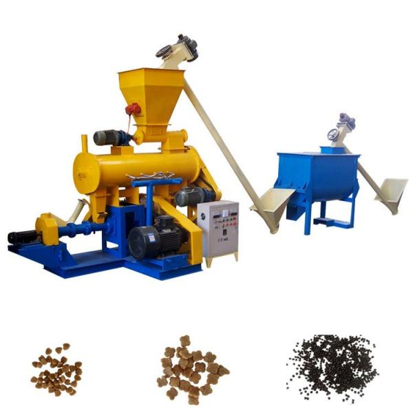 700-800kg/H Dry Type Floating Fish Feed Pellet Extruder