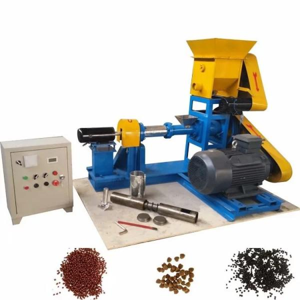 Factory Price Single Screw Floating Fish Feed Extruder