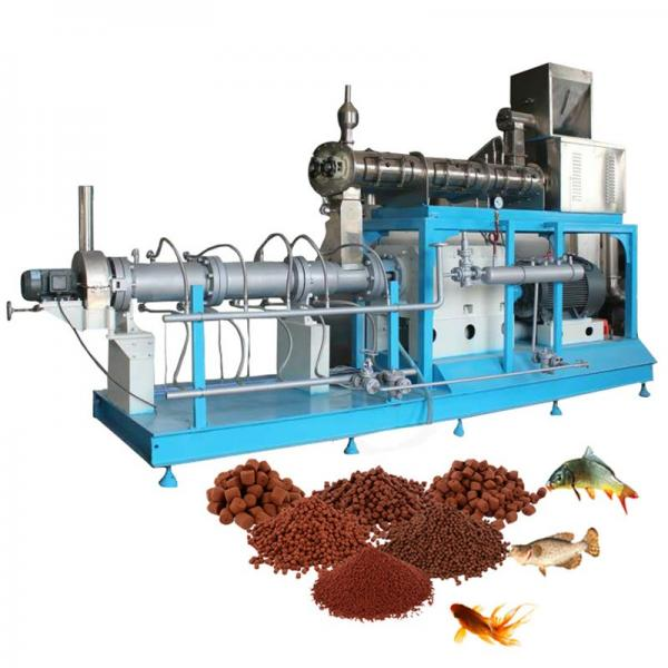 Combined Animal Fish Feed Extruder Feeds Production Machine