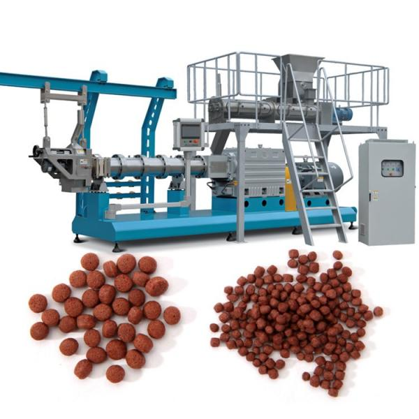 Small Pellet Size Extruding Floating Fish Feed Production Line