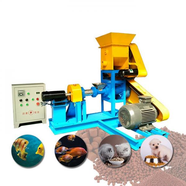 Fish Farm Poultry Feed Pellet Production Line Food Machine